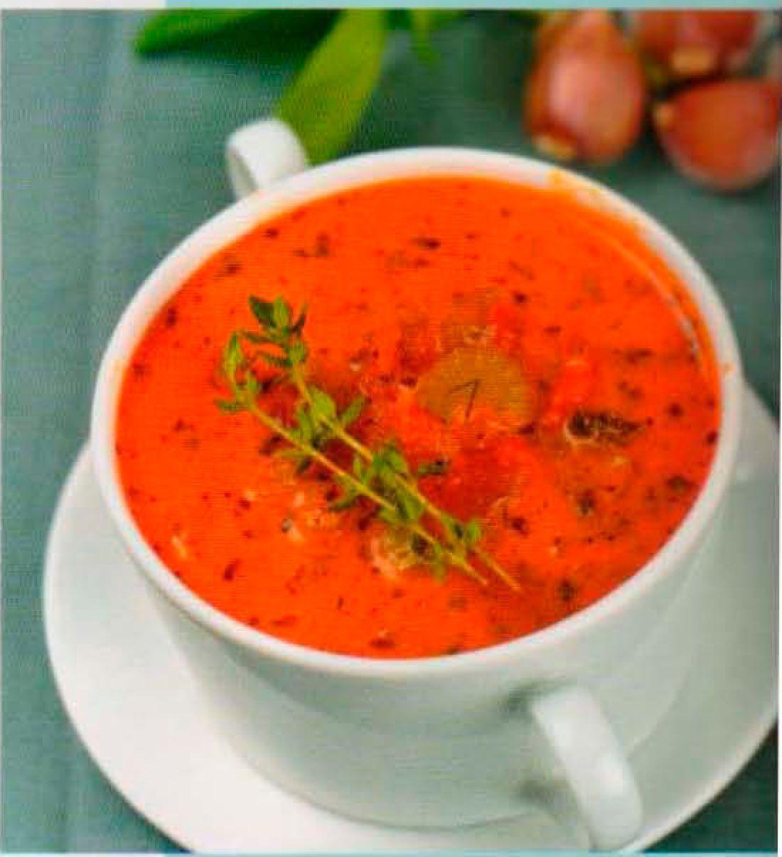 Красный суп рецепт